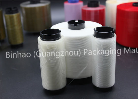 الصين Custom Printed Cigarette Reinforced Packing Tear Tape High Grade PET Raw Material المزود